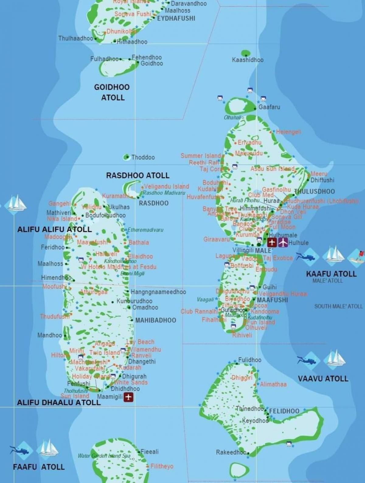 Maldives On Map Of Asia.Maldives Country Map Maldives Country In World Map Southern Asia