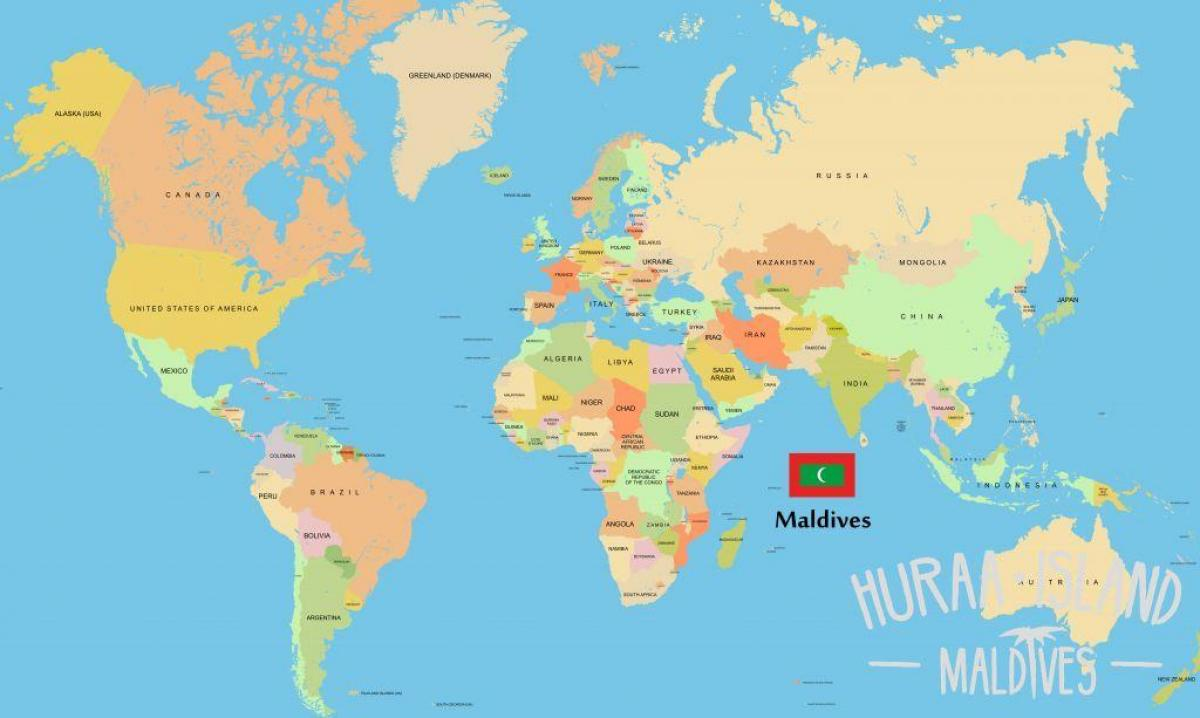 Location Of Asia In World Map.Maldives Location In World Map Map Of Maldives In World Map