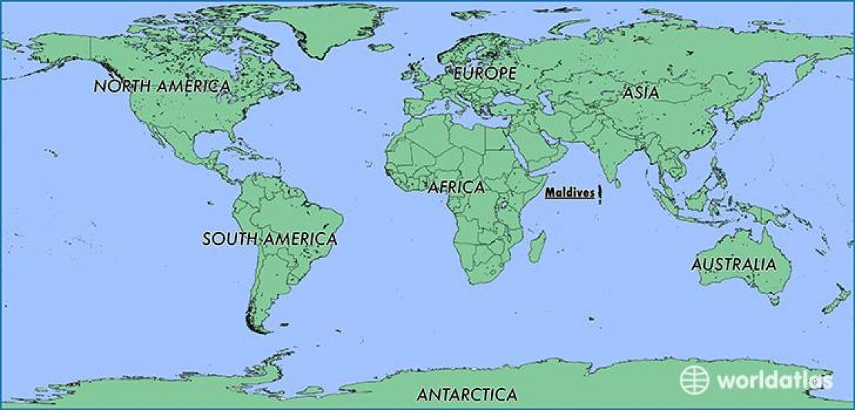 map maldives neighbouring countries