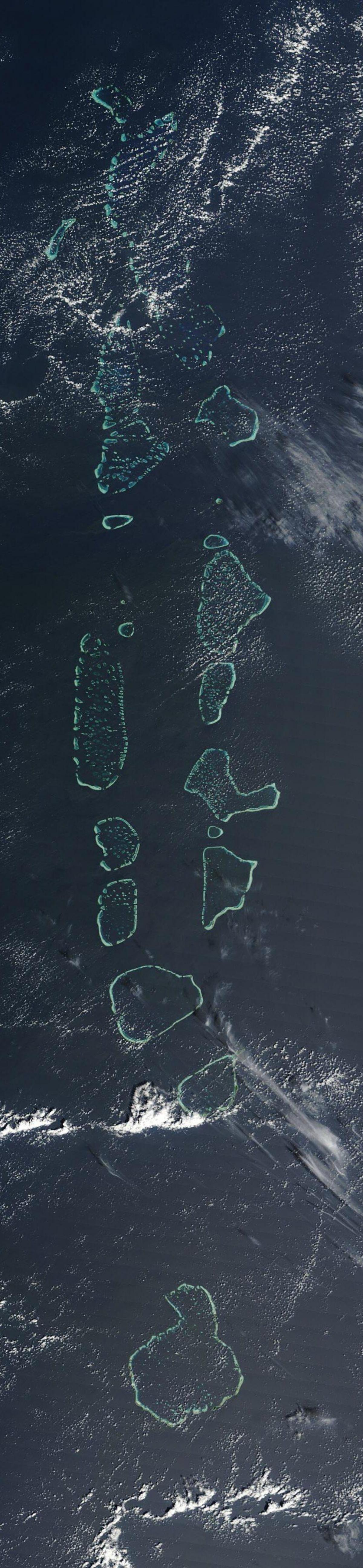 map of maldives satellite