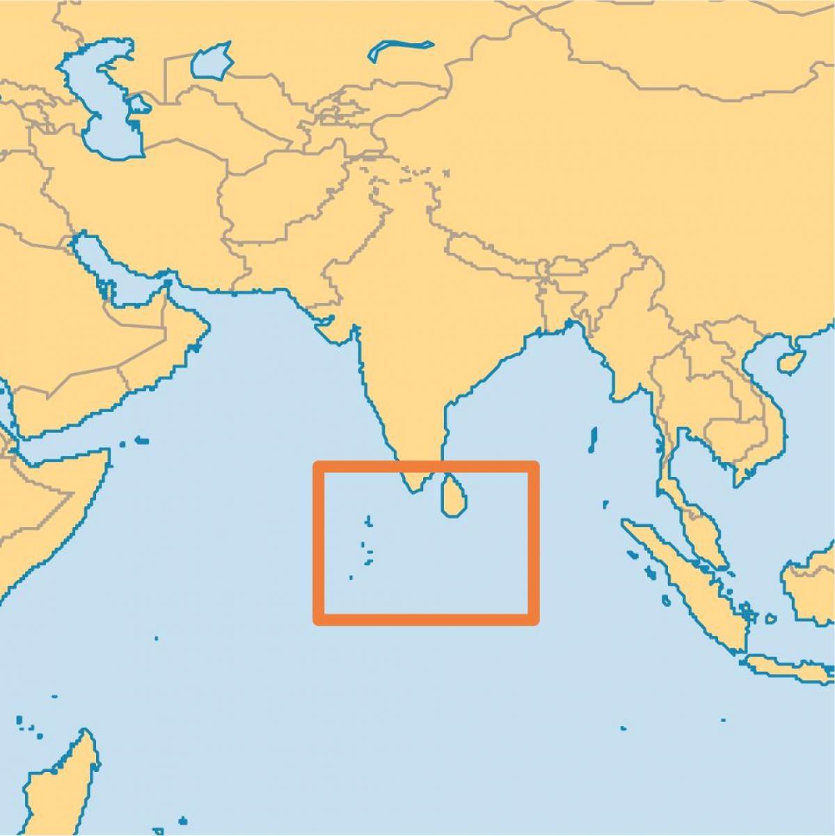Maldives On A World Map.World Map Maldives Islands Maldives Island Location On World Map